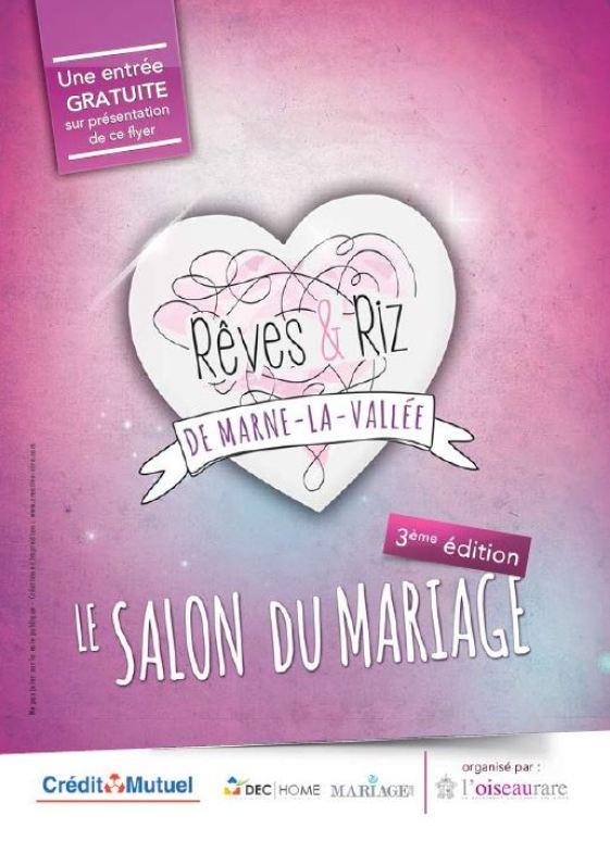 Lagny sur marne salon du mariage une entr e gratuite - Entree gratuite salon agriculture 2015 ...